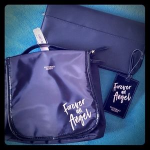 Victoria's Secret Travel Bag and Luggage Tag